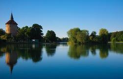 从公园的看法在马尔摩 免版税图库摄影