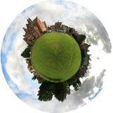 公园行星学校 免版税图库摄影