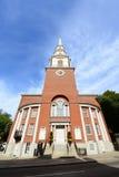 公园街道教会,波士顿,美国 库存照片