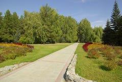 公园路径 免版税库存照片