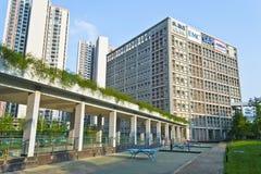 公园软件tianfu 免版税库存照片