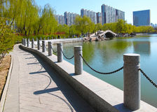 公园风景 图库摄影