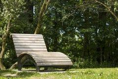 公园读书斑点 免版税库存照片