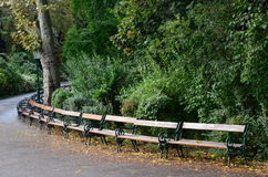 公园结构 库存图片