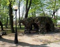 洞穴公园 免版税库存图片