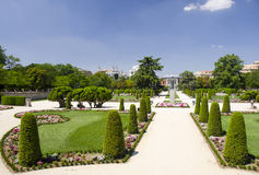 公园Buen-Retiro,马德里,西班牙 库存照片