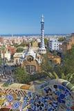 公园GUEL在巴塞罗那 库存照片