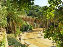 公园Guell 免版税图库摄影