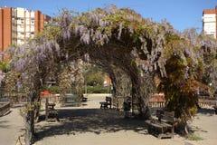 公园Moret,西班牙 免版税库存图片