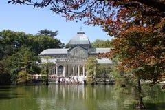 公园retiro 免版税库存照片