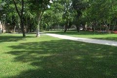 公园Topkapi宫殿外在伊斯坦布尔,土耳其 库存图片