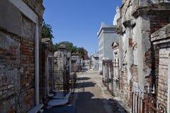 公墓在新奥尔良,路易斯安那 免版税图库摄影