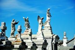 公墓在新奥尔良, LA 免版税库存照片