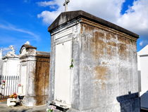 公墓在新奥尔良, LA 库存图片