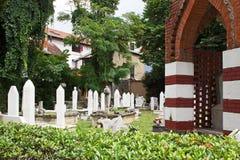 公墓在莫斯塔尔 库存图片