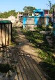 公墓在Robillard,海地 免版税库存照片