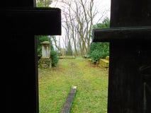 公墓坟茔抽象看法  免版税库存图片