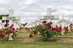 公墓第一位世界大战战士死了在凡尔登战役, Fran 库存图片