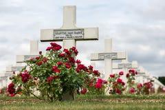 公墓第一位世界大战战士死了在凡尔登战役, Fran 图库摄影
