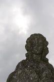 公墓雕象 免版税库存图片