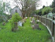 公墓 库存图片