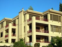 公寓住宅区公寓 免版税库存照片
