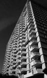 公寓住宅区高层 库存照片