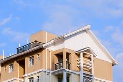 公寓住宅区 免版税库存图片
