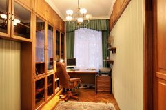 公寓图象居住了multiroom 免版税库存照片