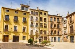 公寓在图德拉的历史的中心 免版税库存照片