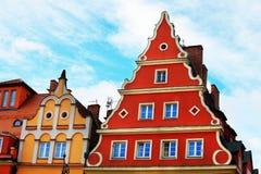 公寓在弗罗茨瓦夫,波兰 免版税库存照片