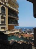 公寓在摩纳哥 免版税库存图片