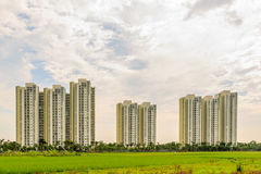 公寓在河内,越南 免版税库存图片