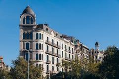 公寓在巴塞罗那 库存图片