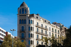 公寓在巴塞罗那 免版税库存图片