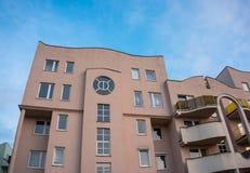 公寓地点挪威奥斯陆 库存照片