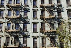 公寓城市居住的纽约 图库摄影