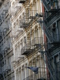 公寓城市纽约 库存图片