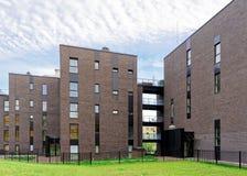 公寓居民住房现代建筑学  免版税库存照片