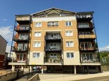 公寓楼,佩恩位置,诺斯韦,Rickmansworth 免版税库存图片