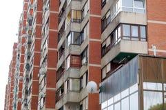 公寓楼 库存图片