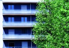 公寓楼 免版税库存图片