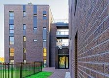 公寓现代建筑学  免版税库存照片