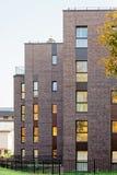 公寓现代建筑学  图库摄影