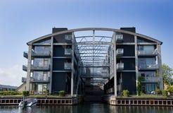 公寓现代的哥本哈根 免版税库存照片