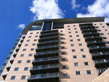 公寓现代的曼彻斯特 免版税库存图片
