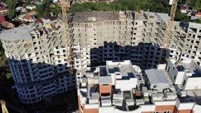 公寓的建筑 从空气的射击 影视素材