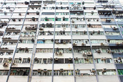公寓老香港 库存图片