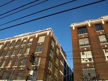 公寓顶楼 库存照片
