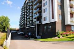 公寓,加拿大 免版税库存照片